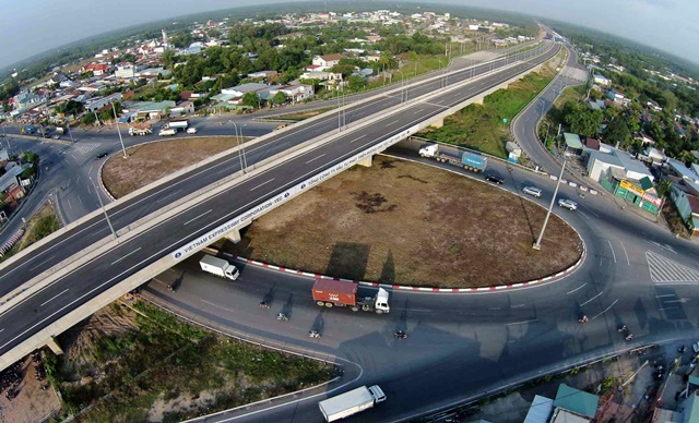 Cao tốc Long Thành giúp giảm thời gian di chuyển đến Dự Án Swan Park.