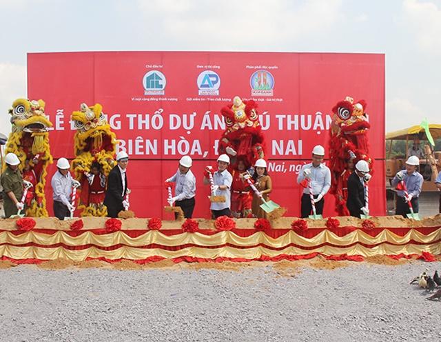 Lễ động thổ dự án Tam Phước. LH: 0944.101.441