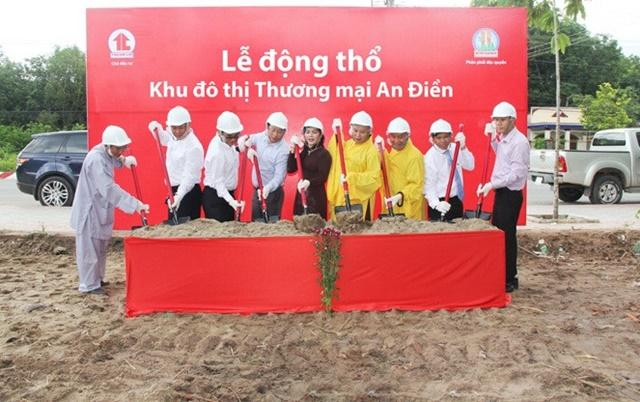 Công ty Kim Oanh động thộ dự án Bến Cát Center City 2