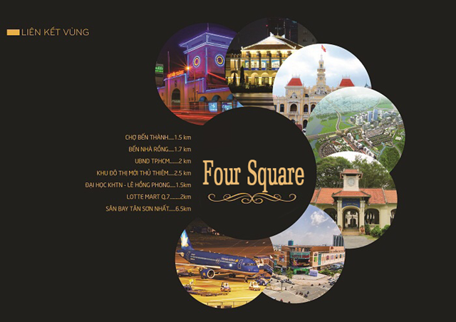 Shop kios Four Square Quận 4