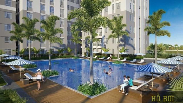 Enjoy high-class international standard facilities such as luxurious lobby and reception, gym and swimming pool.